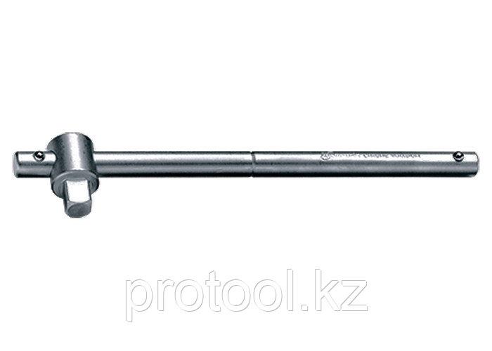 """Вороток, 115 мм, квадрат 1/4"""", CrV, хромированный// MATRIX MASTER"""