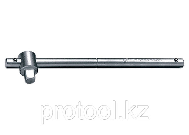 "Вороток, 115 мм, квадрат 1/4"", CrV, хромированный// MATRIX MASTER, фото 2"