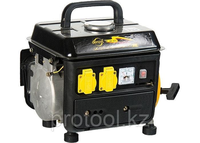 Генератор бензиновый DB950, 0,75 кВт, 220В/50Гц, 4 л, ручн. пуск// DENZEL