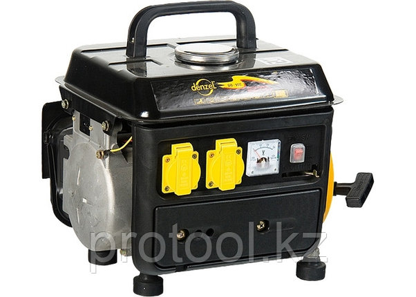 Генератор бензиновый DB950, 0,75 кВт, 220В/50Гц, 4 л, ручн. пуск// DENZEL, фото 2