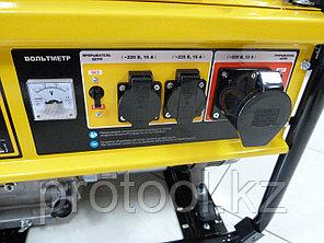 Генератор бензиновый GE 8900, 8,5 кВт, 220В/50Гц, 25 л, ручной старт// DENZEL, фото 2