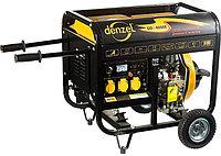 Генератор дизельный DD5800Е, 5 кВт, 220В/50Гц, 12.5 л, электростартер// DENZEL