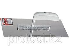 Гладилка из нержавеющей стали, 480 х 130 мм, деревянная ручка// MATRIX