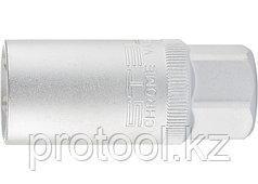 "Головка торцевая свечная, 12-гранная, 21 мм, под квадрат 1/2"" // STELS"