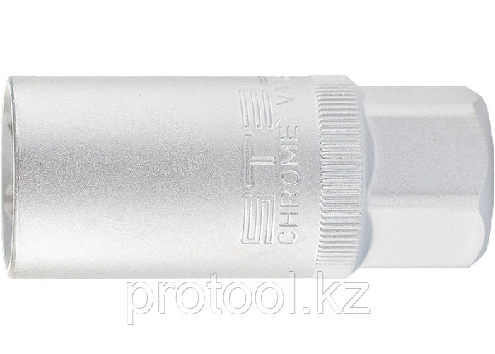 "Головка торцевая свечная, 12-гранная,16 мм, под квадрат 1/2"" // STELS"
