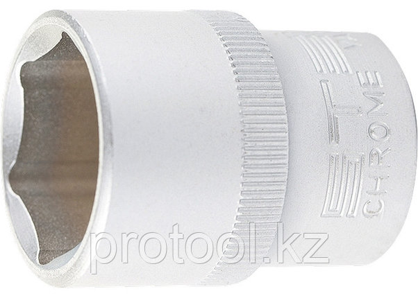 "Головка торцевая, 14 мм, 6-гранная, CrV, под квадрат 1/2""// STELS, фото 2"