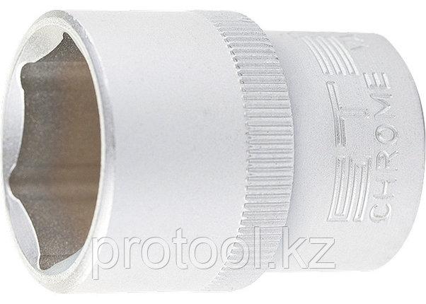 "Головка торцевая, 24 мм, 6-гранная, CrV, под квадрат 1/2"", // STELS, фото 2"