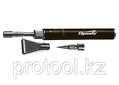 "Горелка газовая, тип ""Карандаш"" + 2 насадки для пайки, 200 мм// SPARTA"
