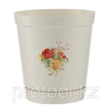 Горшок Глэдис роза 1,2 л // PALISAD, фото 2