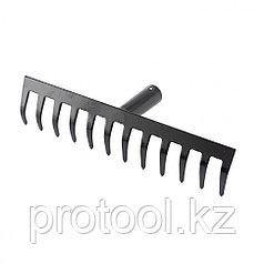 Грабли 12-зубые, 310 мм, без черенка, прямые// СИБРТЕХ Россия