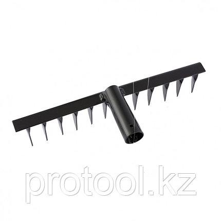 Грабли 12-зубые, 320 мм, без черенка, витые// СИБРТЕХ Россия, фото 2