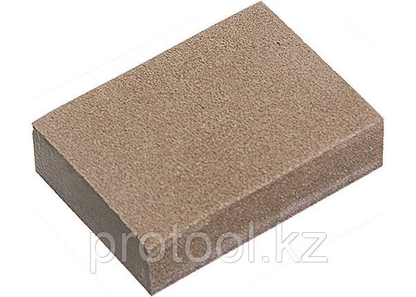 Губка для шлифования, 100 х 70 х 25 мм, средняя жестк., 3 шт., P 60/80, P 60/100, P 80/120// MATRIX, фото 2