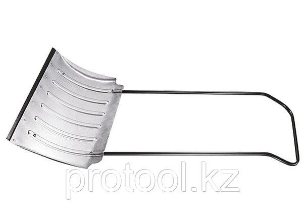 Движок для снега 750 х 420 х 1,8 мм, алюминиевый усиленный// СИБРТЕХ Россия, фото 2