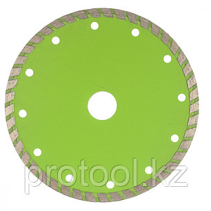 Диск алмазный отрезной Turbo, 150 х 22,2 мм, сухая резка// СИБРТЕХ, фото 2