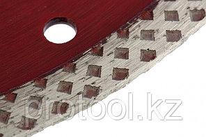 Диск алмазный отрезной сплошной, 125 х 22,2 мм, сухая резка// MATRIX Professional, фото 2