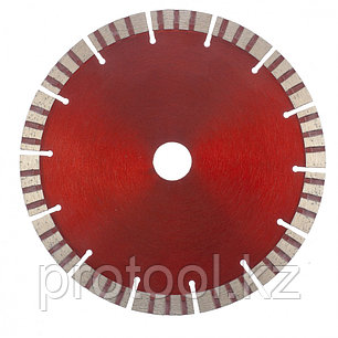 Диск алмазный отрезной Турбо-сегментный, 180 х 22,2 мм, сухая резка// MATRIX Professional, фото 2
