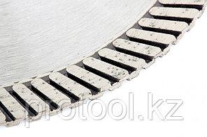Диск алмазный ф115х22,2мм, турбо, сухое резание // GROSS, фото 3