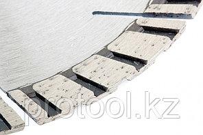 Диск алмазный ф115х22,2мм, турбо-сегментный, сухое резание // GROSS, фото 3