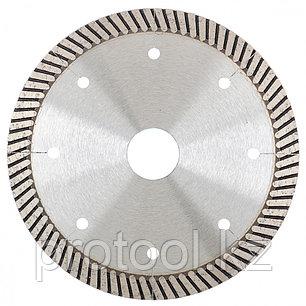 Диск алмазный ф125х22,2мм, турбо с лазерной перфорацией, сухое резание // GROSS, фото 2