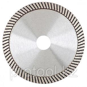 Диск алмазный ф125х22,2мм, турбо, сухое резание // GROSS, фото 2