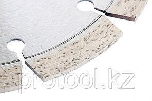 Диск алмазный ф180х22,2мм, лазерная приварка сегментов, сухое резание // GROSS, фото 3