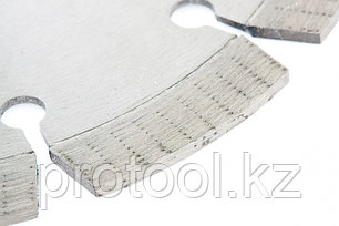 Диск алмазный ф180х22,2мм, сегментный, упорядоченный алмаз, сухое резание // GROSS, фото 2