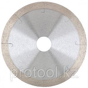 Диск алмазный ф180х22,2мм, сплошной c  лазерной перфорацией, мокрое резание // GROSS, фото 2