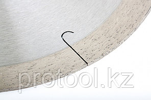Диск алмазный ф180х22,2мм, сплошной c  лазерной перфорацией, мокрое резание // GROSS, фото 3