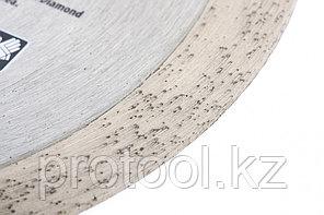 Диск алмазный ф230х22,2мм, сплошной, мокрое резание // GROSS, фото 3