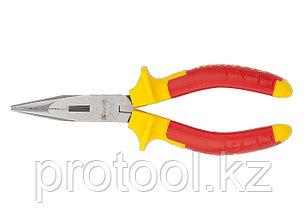 Длинногубцы прямые  Insulated, 160мм, двухкомпонентные рукоятки//MATRIX PROFESSIONAL, фото 2