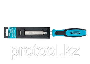 Долото-стамеска PIRANHA, 16 мм, двухкомпонентная эргономичная рукоятка// GROSS, фото 2