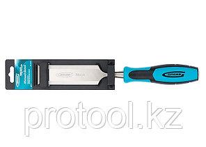 Долото-стамеска PIRANHA, 38 мм, двухкомпонентная эргономичная рукоятка// GROSS, фото 2