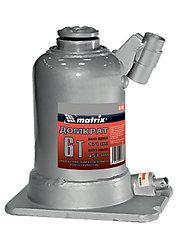 Домкрат гидравлический бутылочный телескопический, 6 т, подъем 171–453 мм// MATRIX