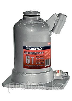 Домкрат гидравлический бутылочный телескопический, 6 т, подъем 171–453 мм// MATRIX, фото 2
