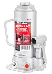 Домкрат гидравлический бутылочный, 10 т, h подъема 230–460 мм// MATRIX MASTER