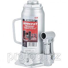 Домкрат гидравлический бутылочный, 12 т, h подъема 230–465 мм// MATRIX MASTER