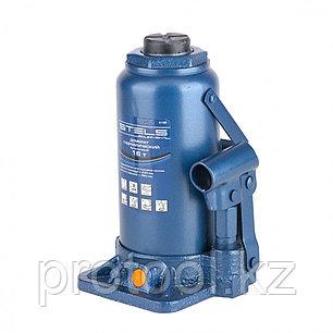 Домкрат гидравлический бутылочный, 16 т, h подъема 230–460 мм// STELS, фото 2