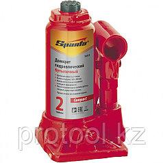 Домкрат гидравлический бутылочный, 2 т, h подъема 150–280 мм// SPARTA Compact