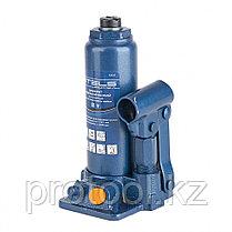 Домкрат гидравлический бутылочный, 2 т, h подъема 181–345 мм, в пласт. кейсе// STELS, фото 2