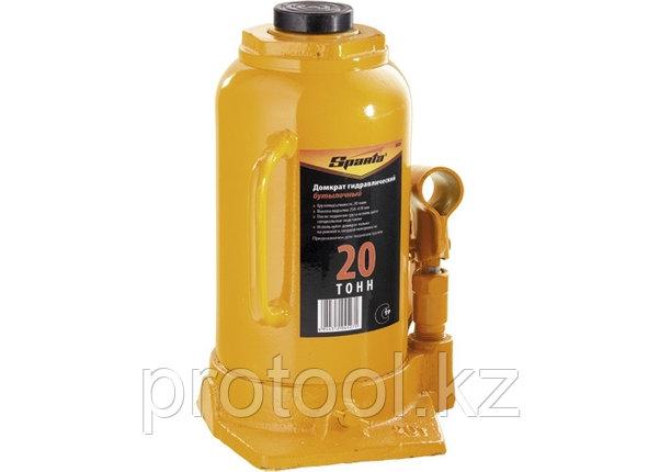 Домкрат гидравлический бутылочный, 20 т, h подъема 250-470 мм// SPARTA, фото 2
