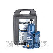 Домкрат гидравлический бутылочный, 4 т, h подъема 194–372 мм, в пласт. кейсе// STELS, фото 3