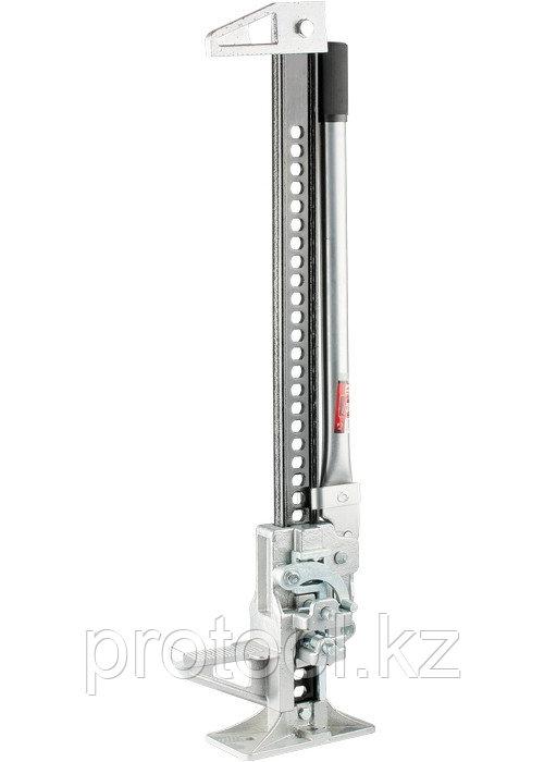 Домкрат реечный, 3 т, h подъема 153–700 мм, High Jack// MATRIX