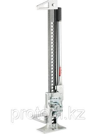 Домкрат реечный, 3 т, h подъема 153–700 мм, High Jack// MATRIX, фото 2