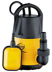 Дренажный насос DP250 250 Вт, подъем 6 м, 6000 л/ч //Denzel