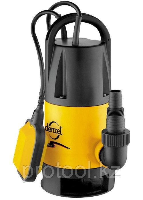 Дренажный насос DP600 600 Вт, подъем 7 м, 10000 л/ч //Denzel