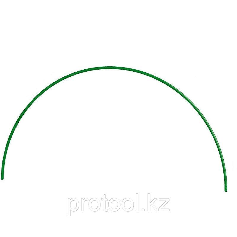 Дуга пластиковая для парника 2,2м, d12 зеленая // PALISAD