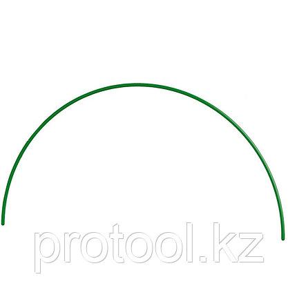 Дуга пластиковая для парника 2,2м, d12 зеленая // PALISAD, фото 2