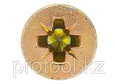 Дюбель-гвоздь полипропиленовый с потайным бортиком 6х80мм, 100шт// СИБРТЕХ