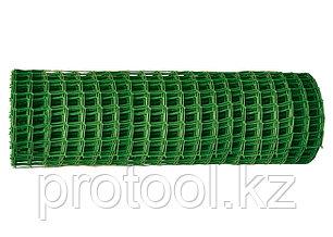 Заборная решетка в рулоне 2х25 м ячейка 22х22 мм // Россия, фото 2