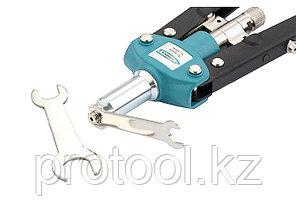 Заклепочник двуручный 420 мм, двухкомпонентные рукоятки, для заклепок 2.4-3.2-4.0-4.8// GROSS, фото 2